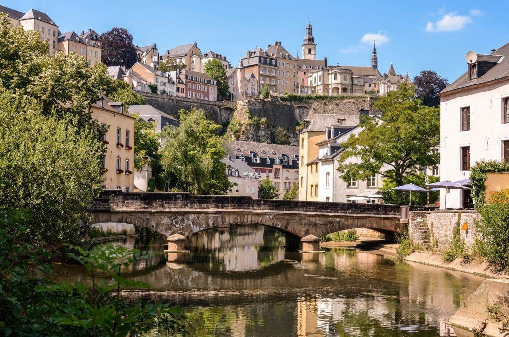 Luxemburg-Stad in Luxemburg