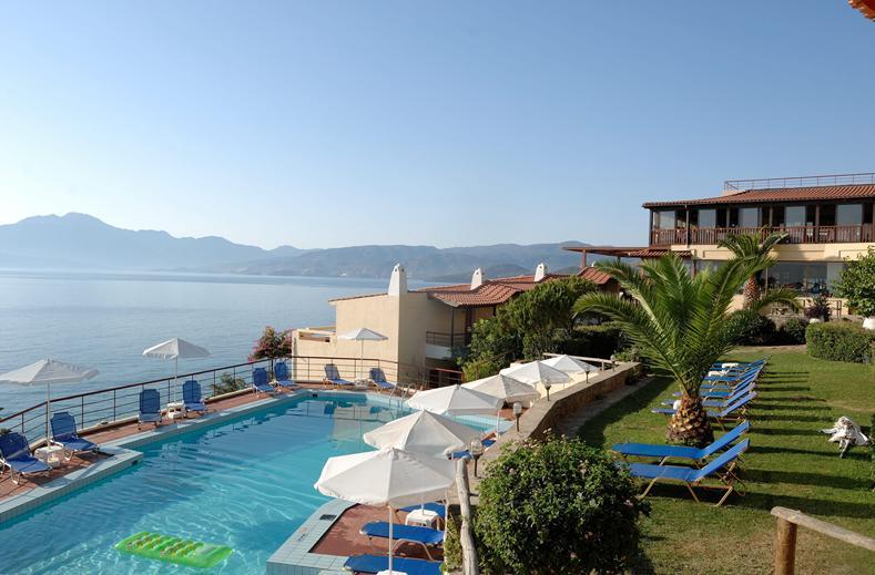 Ligging van Miramare Resort & Spa in Agios Nikolaos, Kreta
