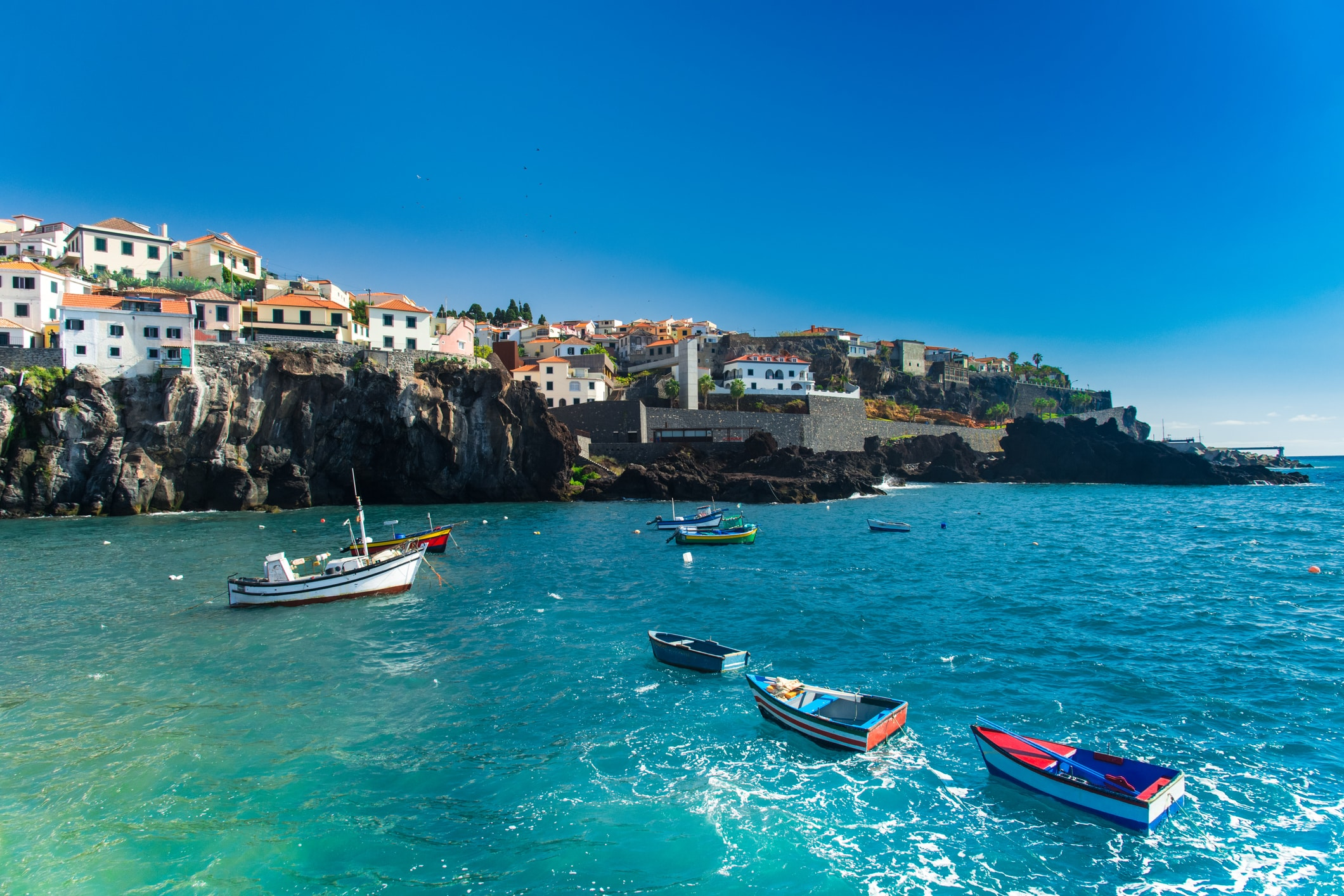Diverse hotels in Madeira, Portugal