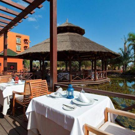 Ontbijten bij Sheraton Fuerteventura Beach, Golf & Spa Resort in Caleta de Fuste, Fuerteventura