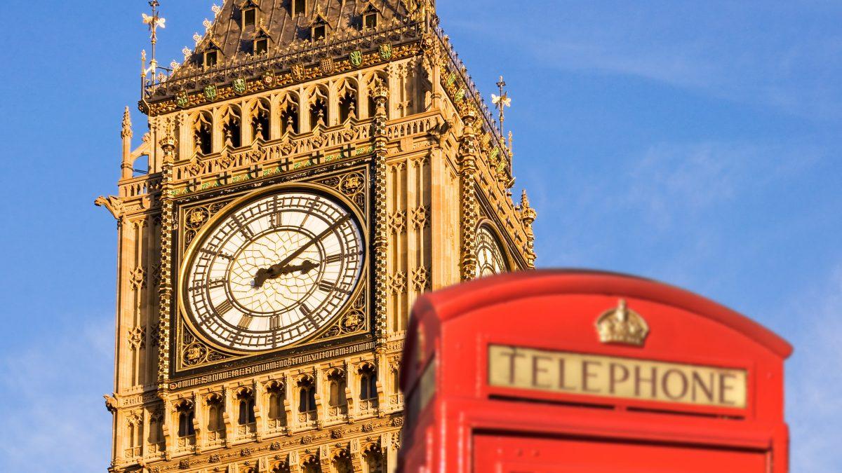 in Londen, Engeland