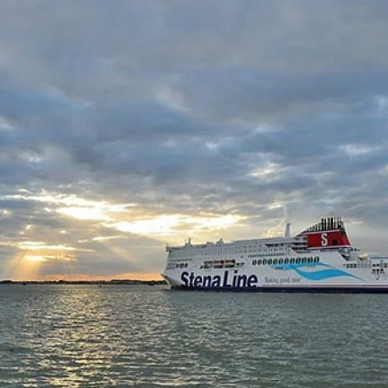Stena Hollandica in Londen, Verenigd Koninkrijk