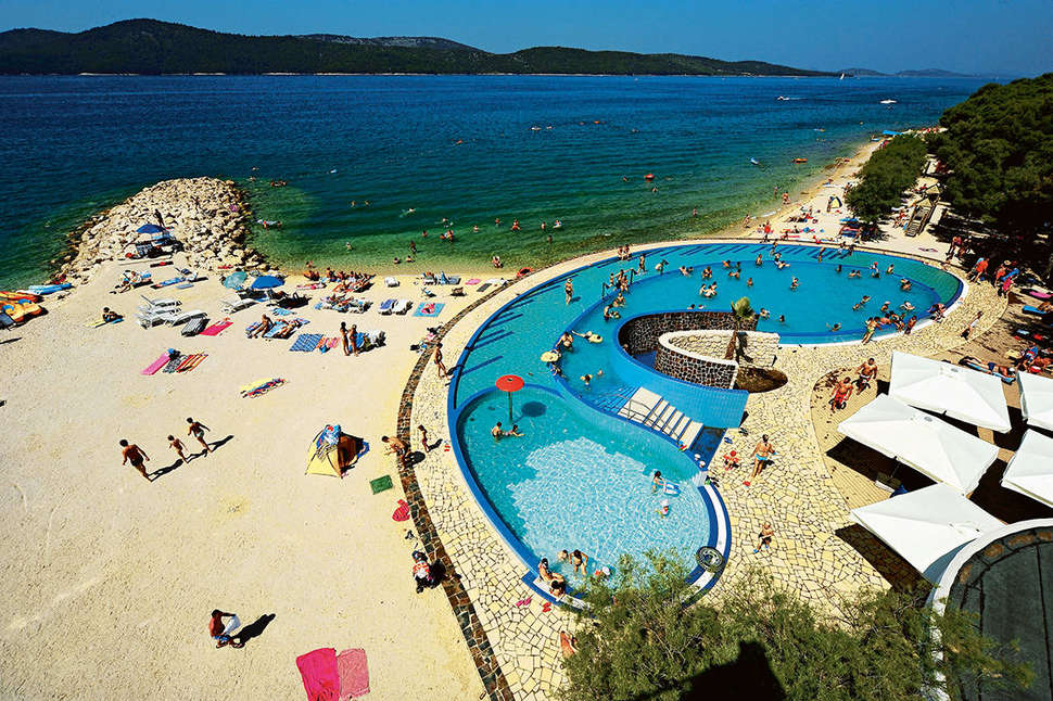 Solaris Camping Beach Resort in Šibenik, Kroatië