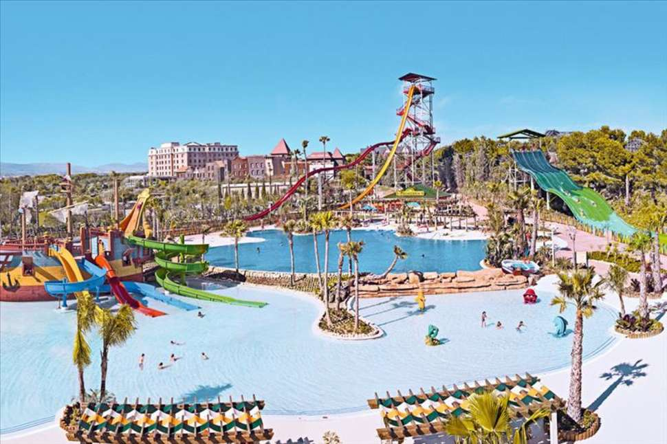 Waterpark in PortAventura, Salou, Spanje