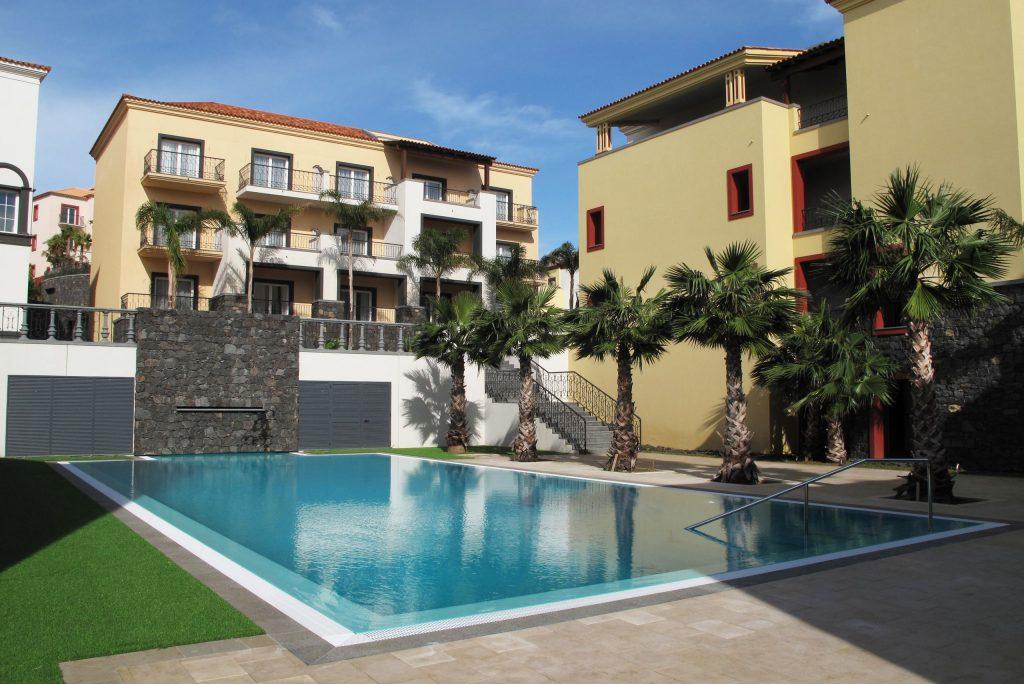 Zwembad van Quinta do Lorde in Machico, Madeira