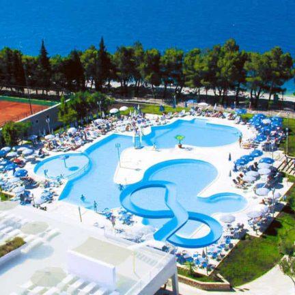 Zwembaden Smartline Bluesun Neptun in Dubrovnik, Kroatië