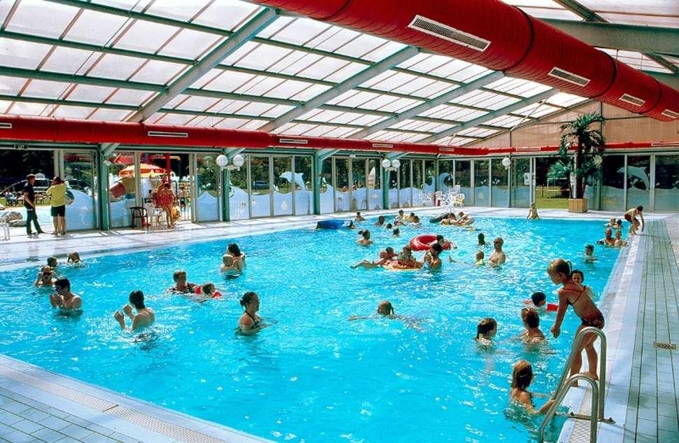 Zwembad van vakantiepark de Westerbergen in Echten, Drenthe