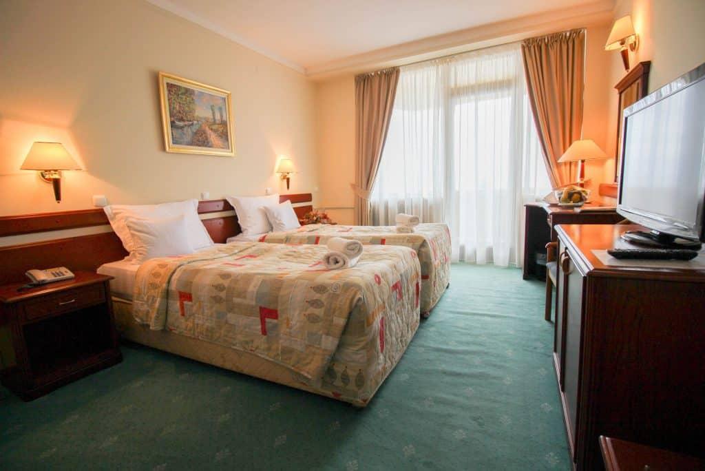 Hotelkamer van het Metropol hotel in Ohrid