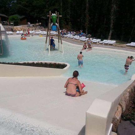 Kinderbad van Camping Orlando in Chianti in Cavriglia, Toscane