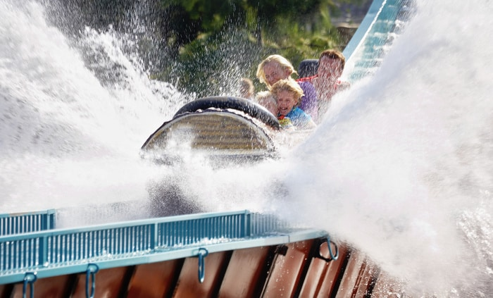 Ripsaw Falls in Attractiepark Slagharen