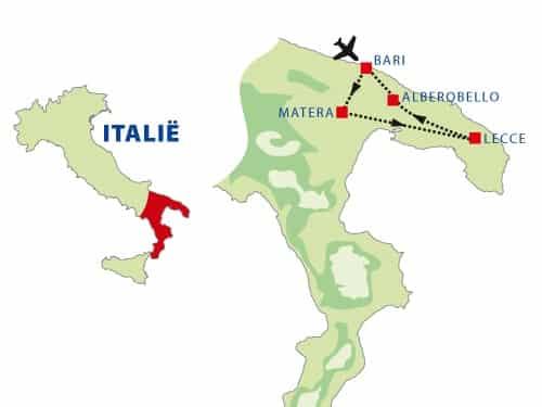 Rondreis door Puglia in Italië