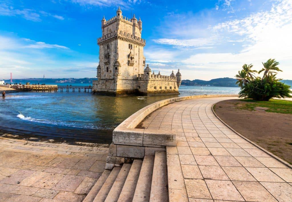 Torre de Belem in Lissabon, Portugal