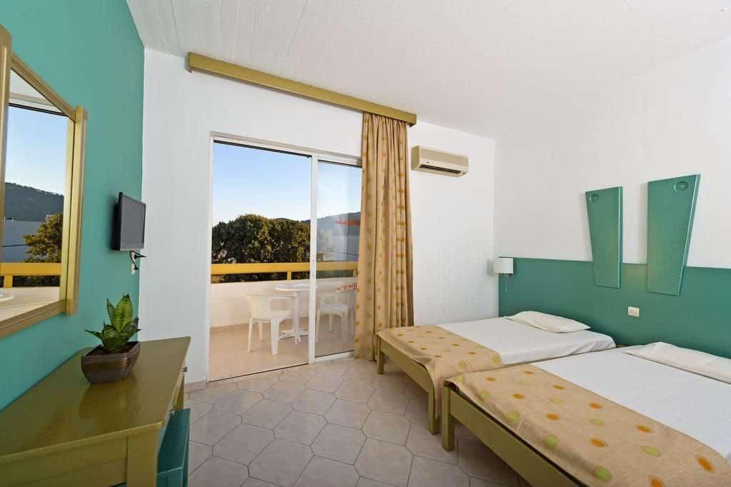Appartement van Aparthotel Trianta in Ialyssos, Rhodos