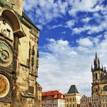 Astronomisch uurwerk in Praag