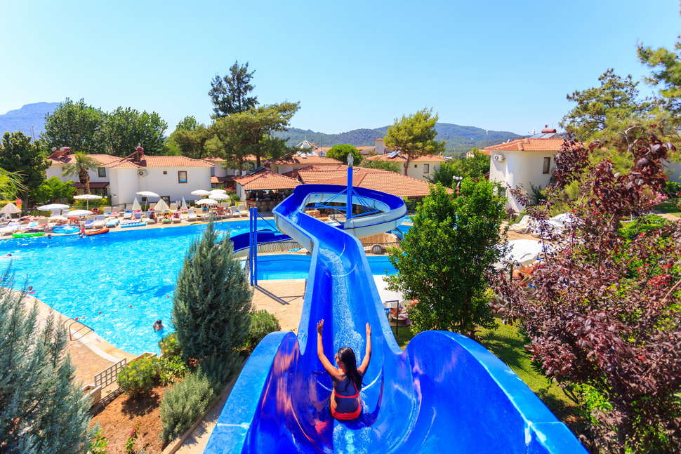 Club Orka Hotel en Villas in Oludeniz, Turkije
