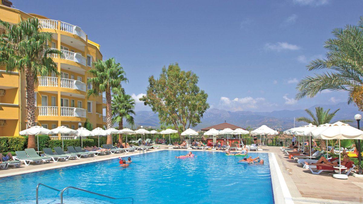 Club Paradiso in Alanya, Turkije