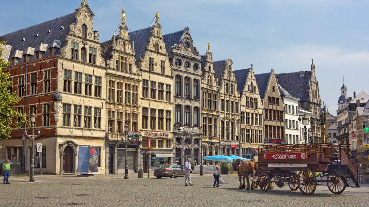 Lindner Hotel en City Lounge in Antwerpen, België