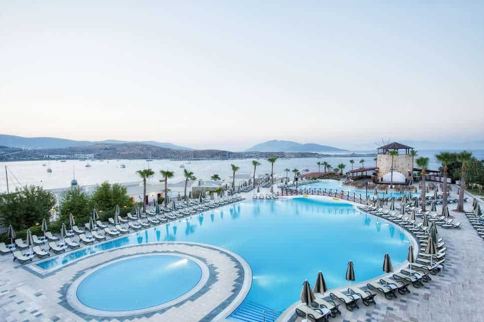 Hotel WOW Bodrum Resort in Bodrum, Turkije