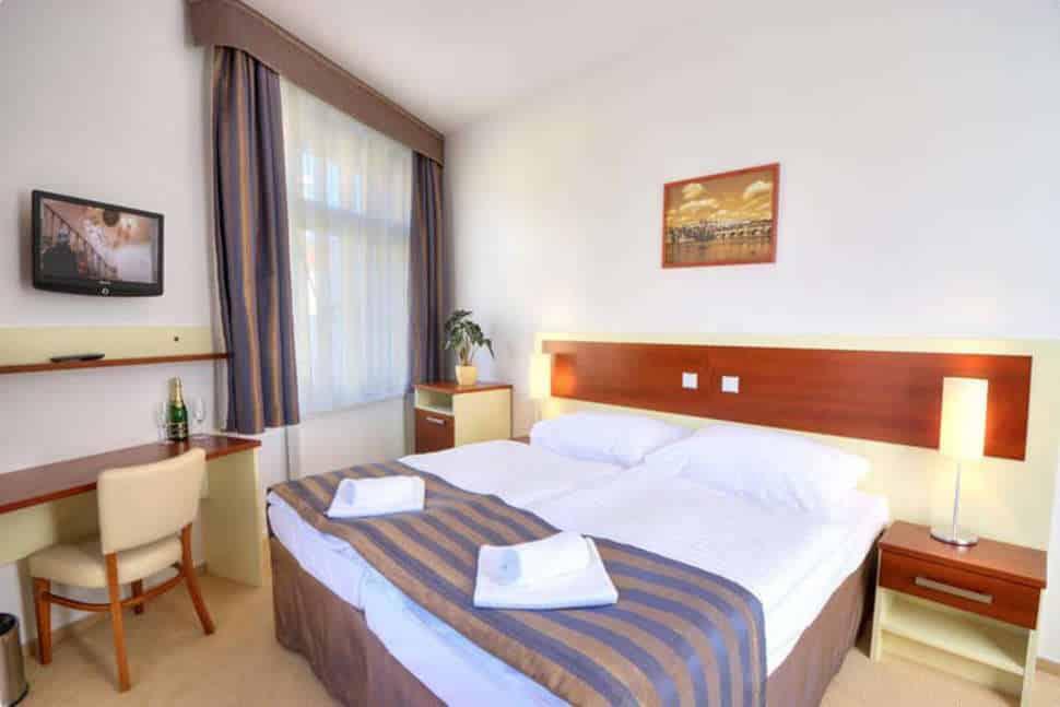 Hotelkamer van City Partner Hotel Gloria in Praag, Tsjechië