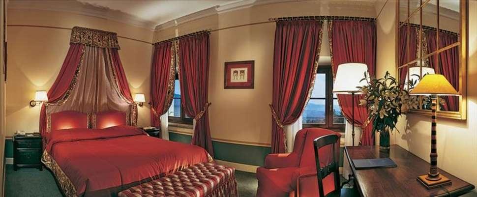 Hotelkamer in Fonteverde Tuscan Resort en Spa in San Casciano Dei Bagni, Italië