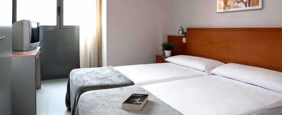 Hotelkamer in Hostel Lami in Barcelona, Spanje