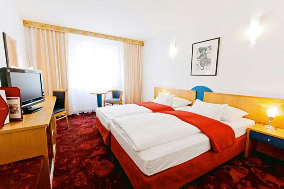 Hotelkamer van Hotel Boltzmann in Wenen, Oostenrijk