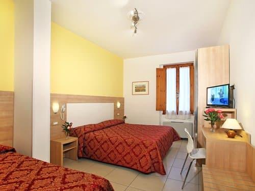 Hotelkamer van Hotel Marrani in Ronta, Italië