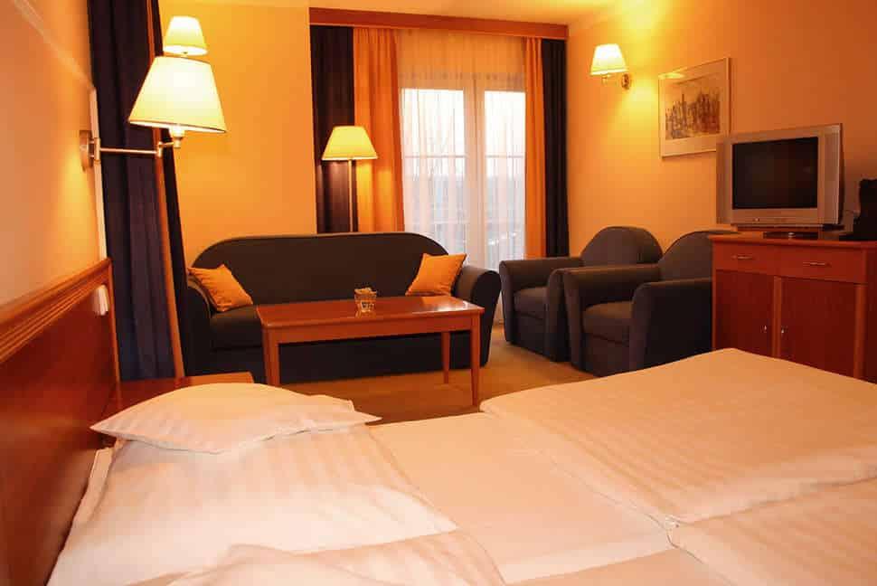 Hotelkamer van Hotel Monica in Praag, Tsjechië