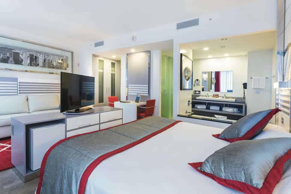 Hotelkamer van Hotel Riu Plaza New York Times Square in New York, Verenigde Staten
