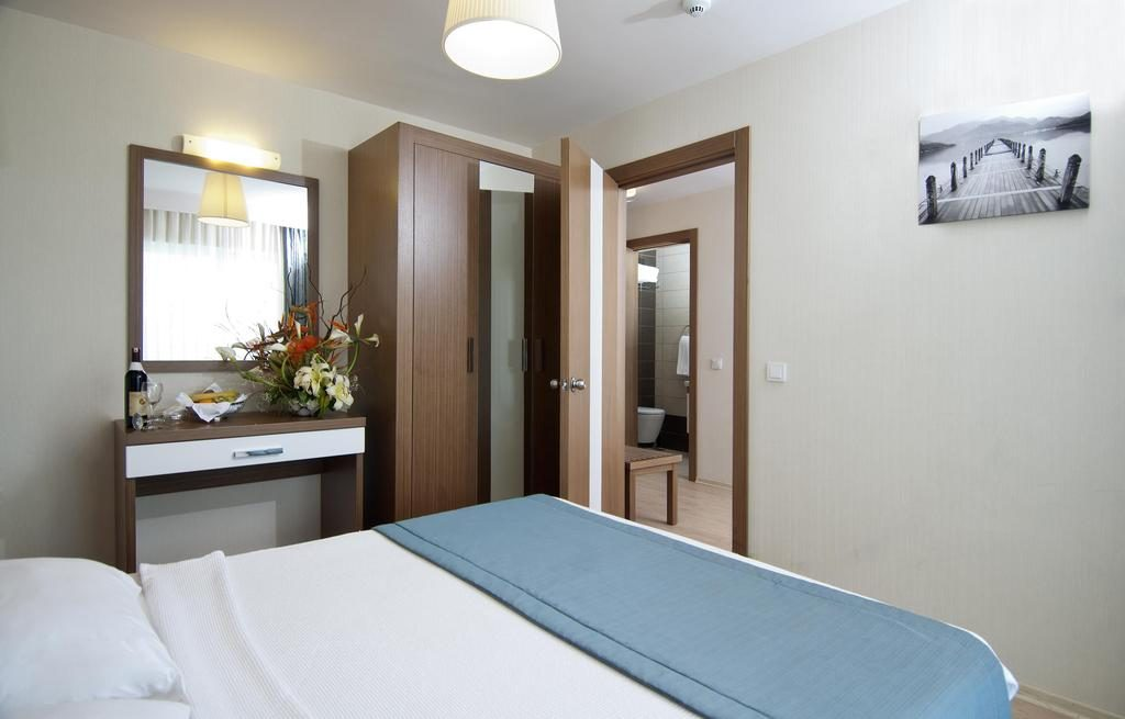 Hotelkamer van Hotel Supreme in Marmaris, Turkije
