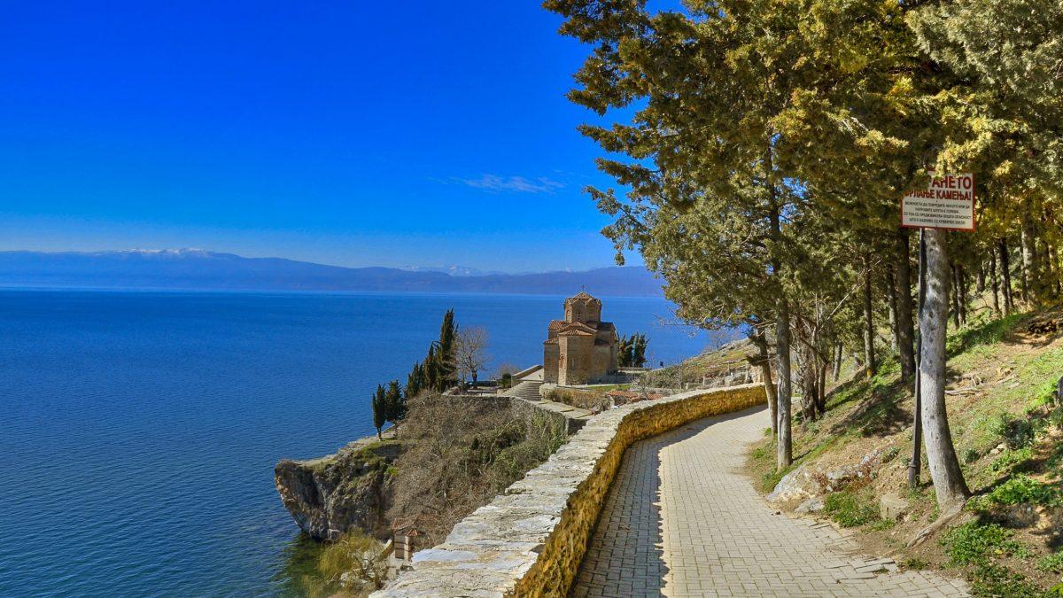Meer van Ohrid, Macedonië