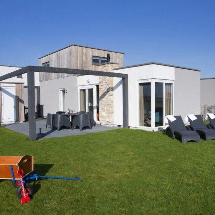 Luxe Lodge van vakantiepark Callassande in Callantsoog, Noord-Holland