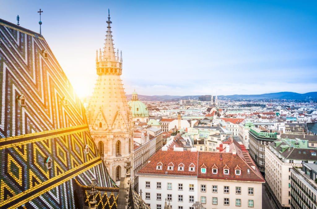 De Sint Stefansdom in Wenen, Oostenrijk