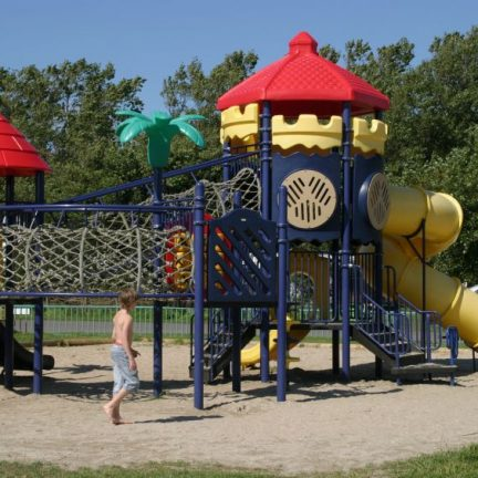 Speeltuin van vakantiepark Callassande in Callantsoog, Noord-Holland