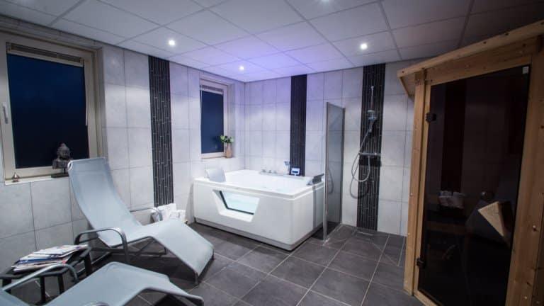 Wellnesscenter in Landgoed Hotel Tatenhove Texel in De Koog, Texel