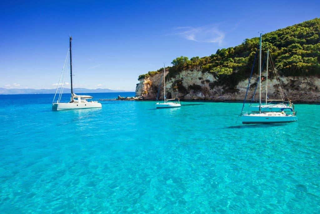 Zee van Corfu, Griekenland