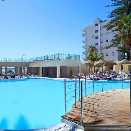 Zwembad van Hopps Hotel