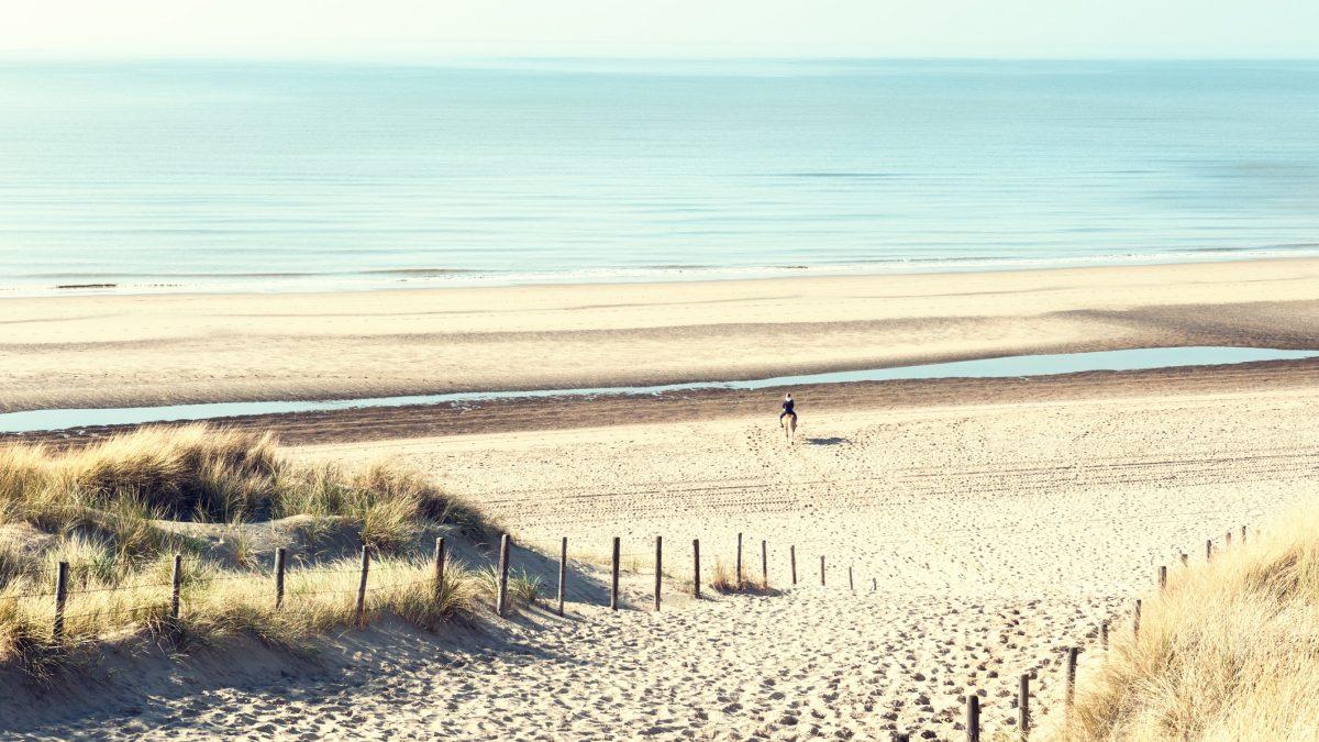 Strand in Noordwijk aan Zee