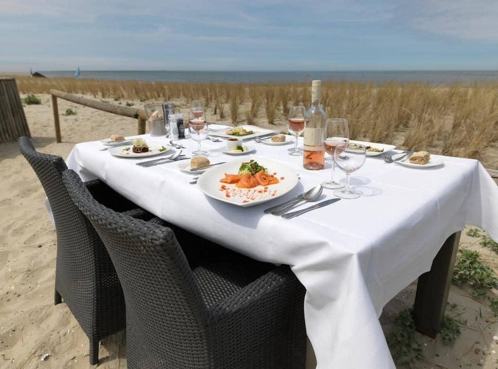 restaurant van WestCord Strandhotel Seeduyn in Oost-Vlieland, Vlieland