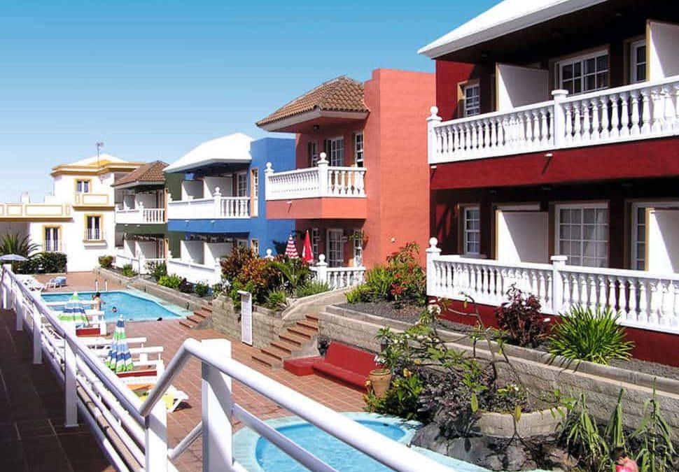 Appartementen Roque y Monica in Puerto Naos, La Palma, Spanje