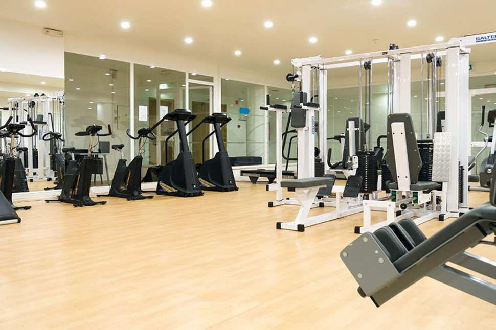 Fitnesscenter van Appartementen Dunamar in Monte Gordo, Portugal