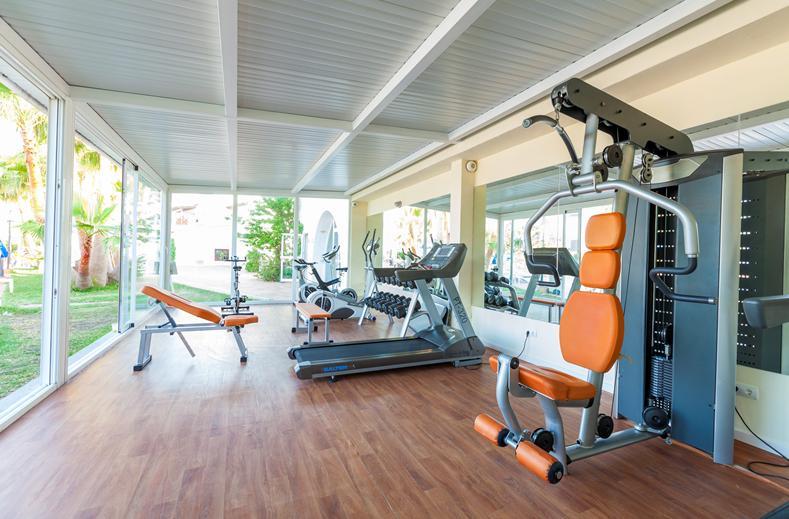 Fitnesscenter van Sirenis Club Siesta in Santa Eulalia, Ibiza