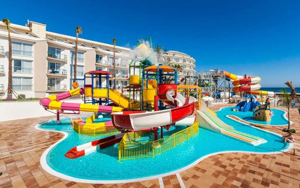 Voor de kinderen SPLASHWORLD Playa Estepona in Costa del Sol, Spanje