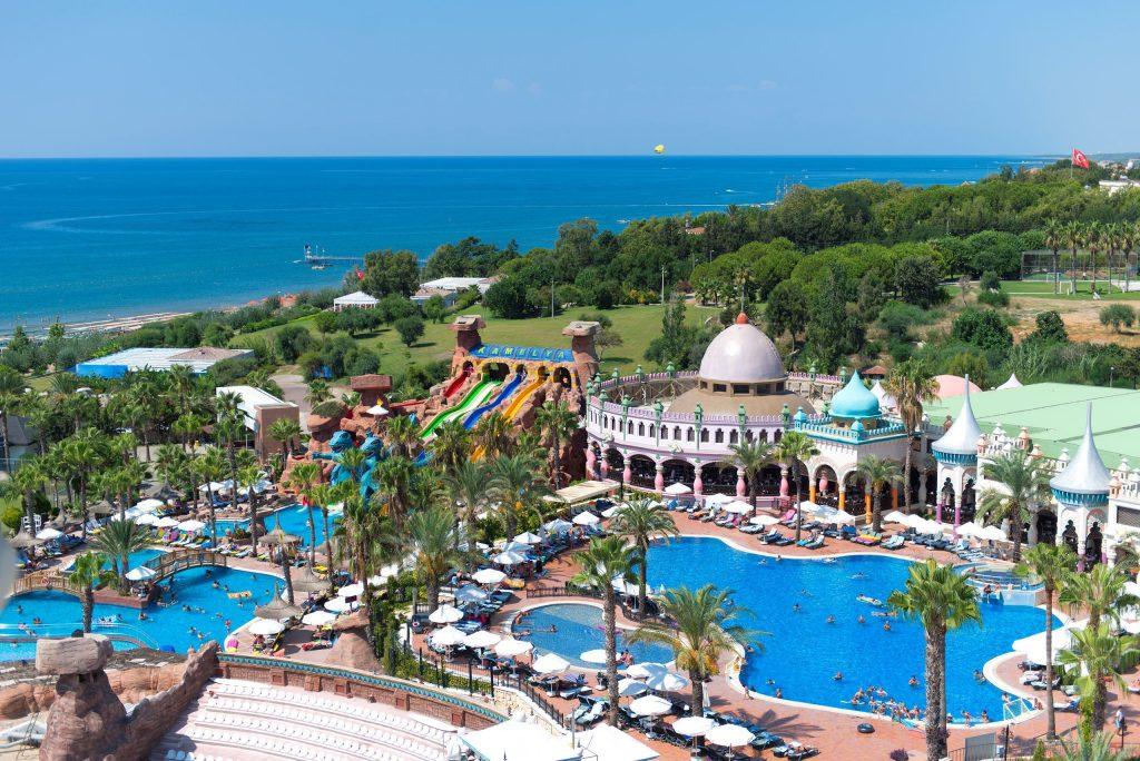Waterpark van Kamelya K Club in Colakli, Turkije