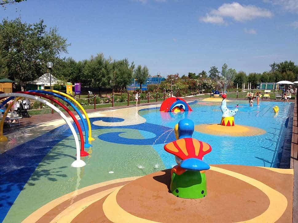 Zwembad Spina Camping Village in Lido di Spina, Italië