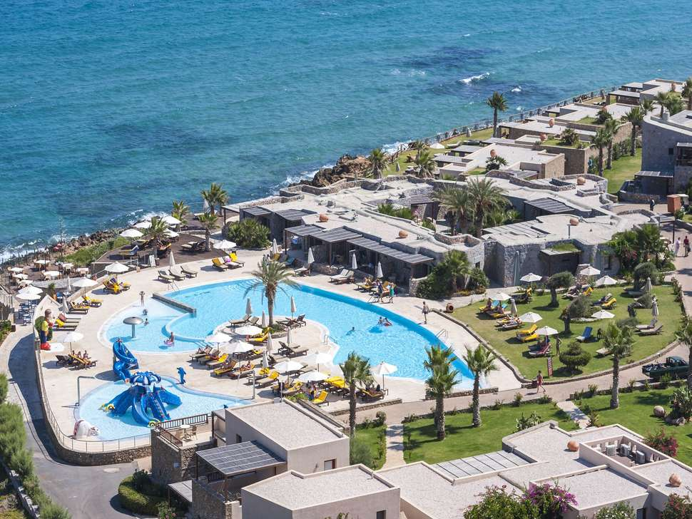ZwembadIkaros Beach Luxury Resort and Spa in Malia, Kreta