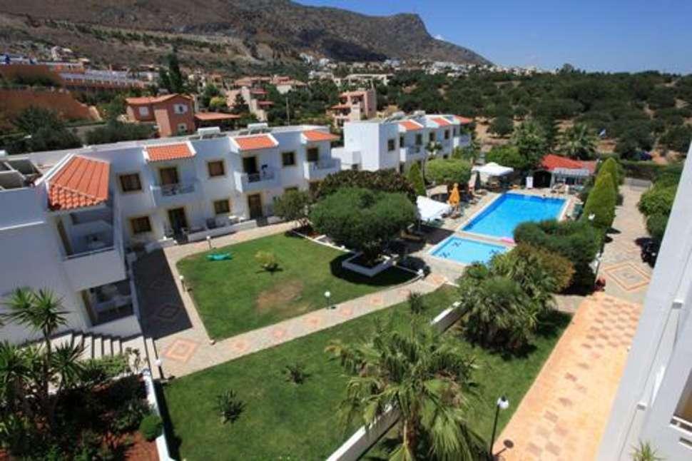Nikolas Villas in Chersonissos, Kreta