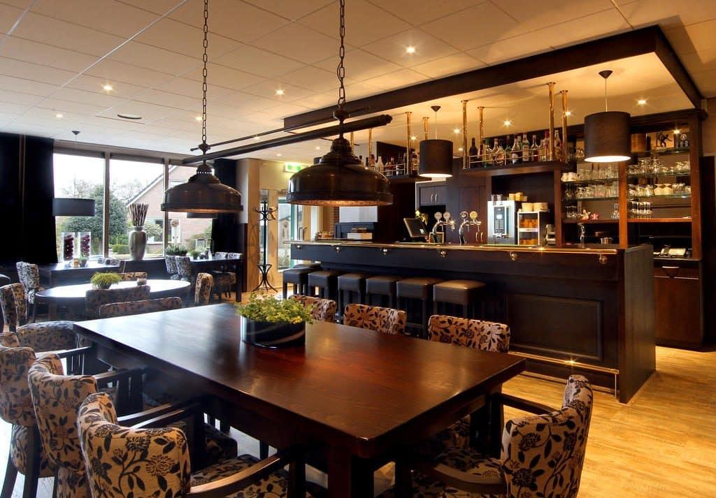 Restaurant in Hotel de Koekoekshof in Elp, Drenthe