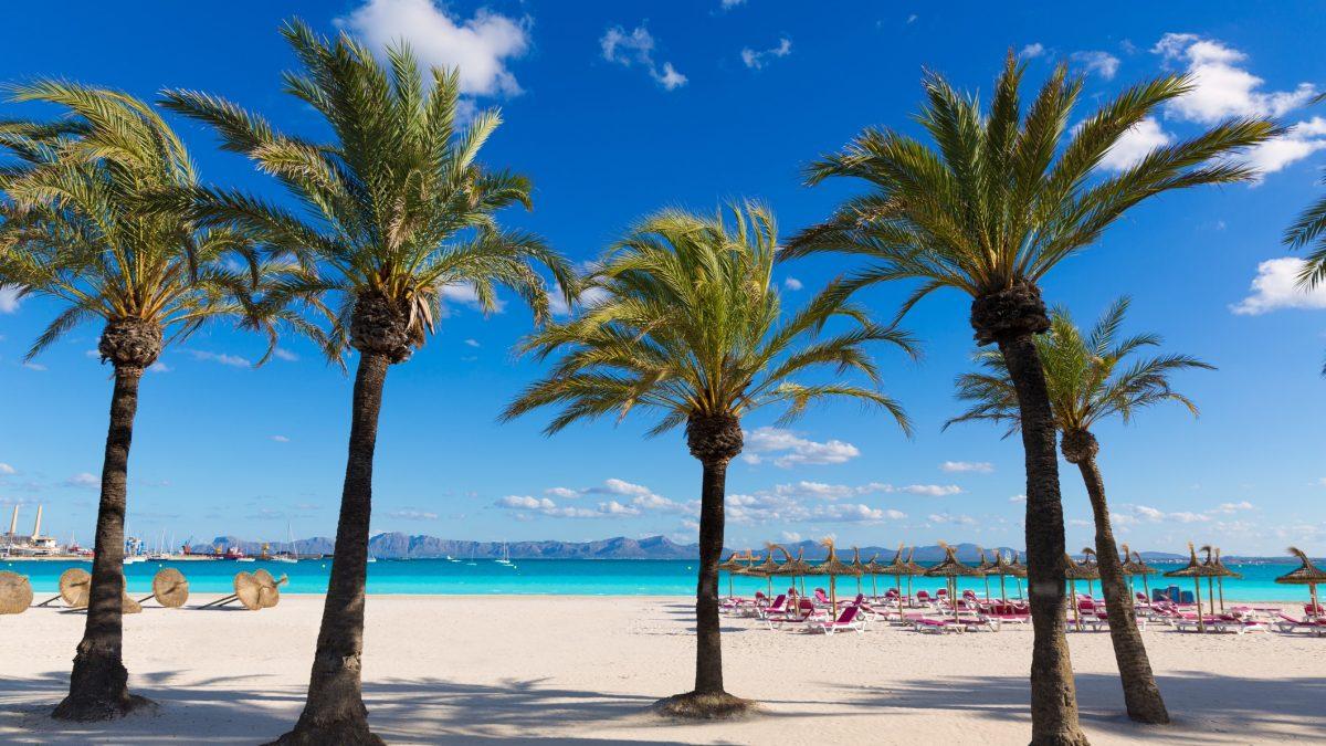 Strand Mallorca, Spanje