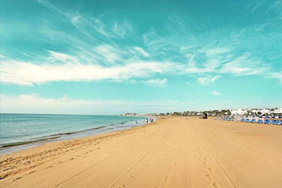 Strand van Puerto del Carmen, Lanzarote